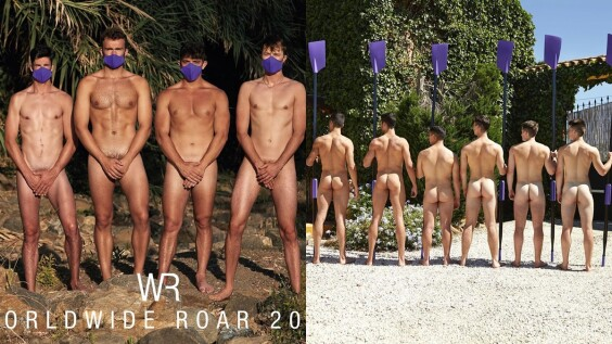 2021英國划船隊裸體年曆來囉!12位鮮肉全裸解放,一字排開結實屁屁療癒滿分