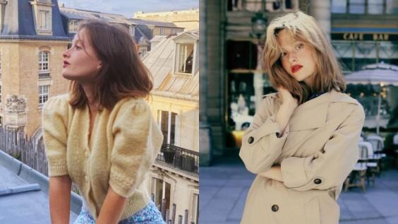 跟著158cm法國小個女孩Camille Yolaine,學習甜美婉約的氣質穿搭!