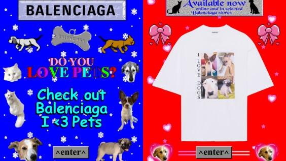 Balenciaga最新熱銷搶手貨!穿上巴黎世家萌又帥的動物印花T-Shirt,一起支持動保協會