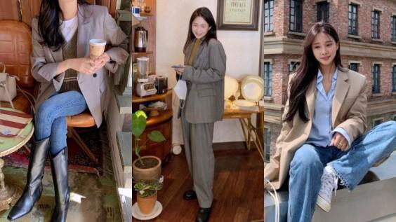 6招秋冬西裝外套穿搭公式,輕鬆掌握高質感韓系造型風格