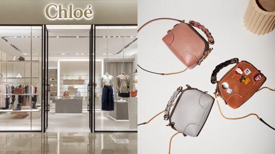 Chloé換上夢幻玫瑰粉新店裝!熱賣C Bag、皮夾、字母項鍊、香氛系列一應俱全