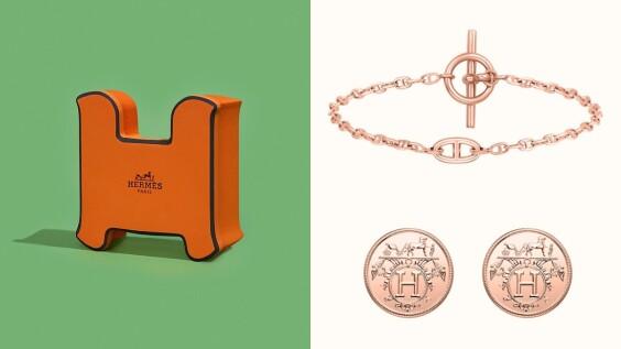 Hermès愛馬仕2020熱賣Top 3珠寶!品牌家徽耳環不到4萬就可收、鑽石手鍊可調長度