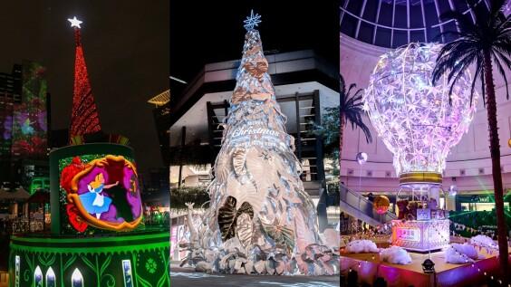 2020最美聖誕樹都在這!全台11棵華麗聖誕樹總整理,17米雪白耶誕樹、粉色熱氣球、寶可夢...快一一收集