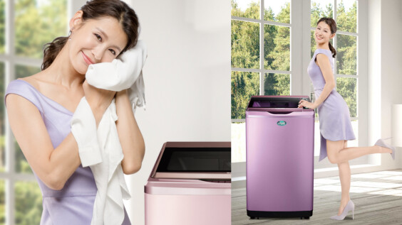輕巧時尚又高顏值的台灣三洋媽媽樂洗衣機真的太圈粉!M編身旁友人默契大推,是忙碌的都會女性最強家事神隊友!