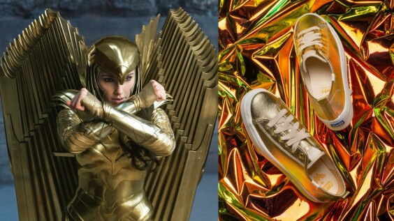 Keds x神力女超人聯名款吸睛美鞋閃亮降臨地球!時尚霸氣的百搭設計,讓妳擁有滿滿自信力量前行追夢!