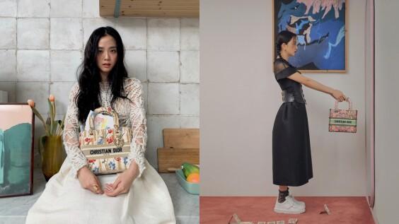 Blackpink Jisoo解密Lady Dior時髦穿搭法則!所有包款都一樣,掌握3大重點就能揹出時尚感