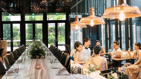 像電影般的夢幻婚禮!在設計旅店賦樂旅居包棟舉辦,還有亞洲50大酒吧EAST END化身派對空間