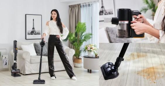 媽咪速玲最愛的居家清潔神隊友—LG A9K系列WIFI濕拖無線吸塵器,一機雙效超乎想像的優秀清潔實力,優雅維持質感生活就靠它了!