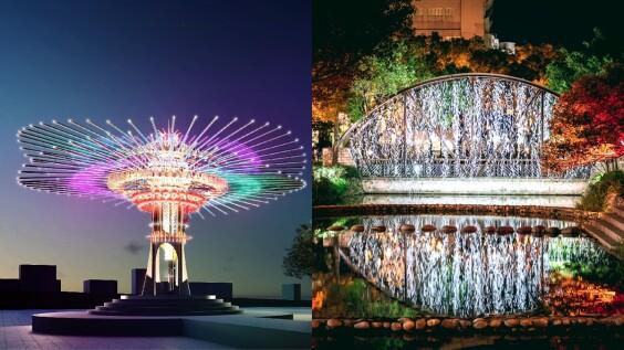 2021台灣燈會在新竹!15米高主燈「乘風逐光」、副燈、護城河燈區搶先看,打造最美城市型燈會