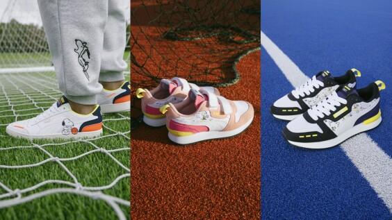 史奴比出沒!Puma X Peanuts聯名系列推出球鞋、運動裝束,全系列品項、售價這篇有
