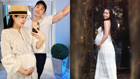恭喜廖曉喬生了!42歲最美孕婦平安生下水瓶寶寶,一系列孕婦寫真絕美破表