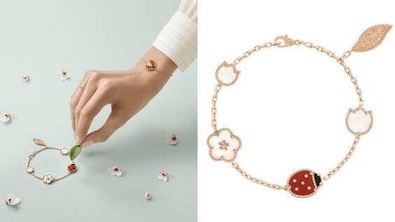 不只四葉幸運草,Van Cleef & Arpels把瓢蟲、梅花和鈴蘭收進最新Lucky Spring系列,可愛升級更有硬底子珠寶工藝!