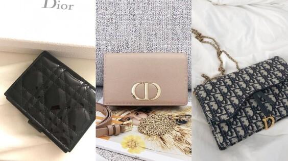 Dior熱賣皮夾推薦TOP5!Lady Dior錢包、Saddle馬鞍短夾、WOC蒙田包...必買原因告訴你(附上售價)