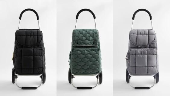 上街買菜也能很時髦!Zara推出摺疊式購物車,2種車型、可以擴大…台灣就能買到
