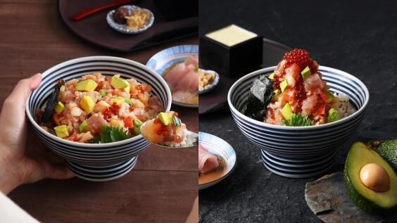 酪梨控尖叫!日本橋海鮮丼辻半推「酪梨海鮮珠寶盒」台灣限定口味,雙重吃法一次品嚐兩種風味