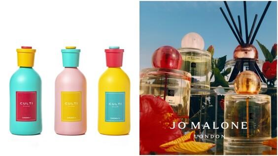 2021絕美擴香瓶推薦!Culti Milano糖果色牛奶瓶擴香、Jo Malone London熱帶島嶼花園系列,用春日香氣增添居家好氣氛