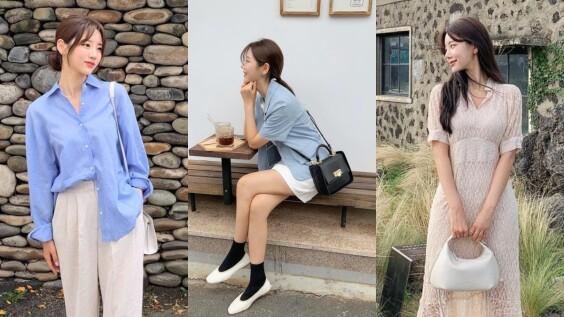 早春穿搭從西裝外套、透膚襯衫、針織衫下手...學習10種韓系穿搭法,瞬間化身氣質歐膩