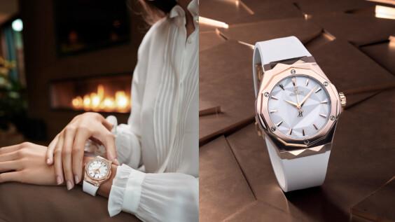 氣場女神的自帶光圈美人計 HUBLOT「光女神」Orlinski腕錶