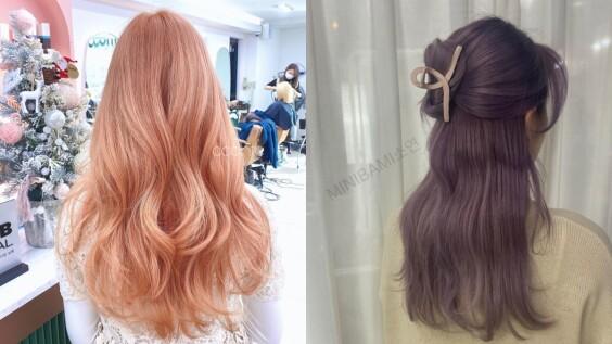 2021春夏髮色推薦:女神感鬱金香色系染髮,隨著光線的低調漸層讓人愛不釋手!