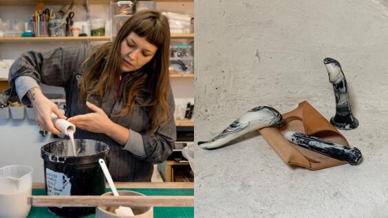 性‧永續、按摩棒!愛愛也能做環保?陶瓷情趣藝術家 Adele Brydges:「唯有掌握身體的性自主權,才能達到生活各層面平衡。」
