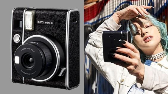 富士推出全新拍立得相機Instax Mini 40!復古簡約外型、質感皮革紋路超吸睛,還能輕鬆自拍逼人帶回家