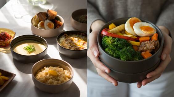 Ronde 陶瓷便當盒—可以全方位加熱便當盒就是它!除了是便當盒,也可以是日常器皿。
