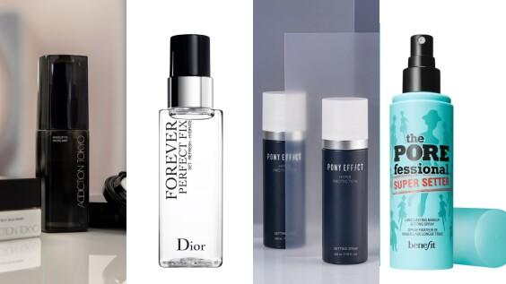 2021定妝噴霧新品推薦,不管戴口罩、天熱流汗都不怕沾粉脫妝
