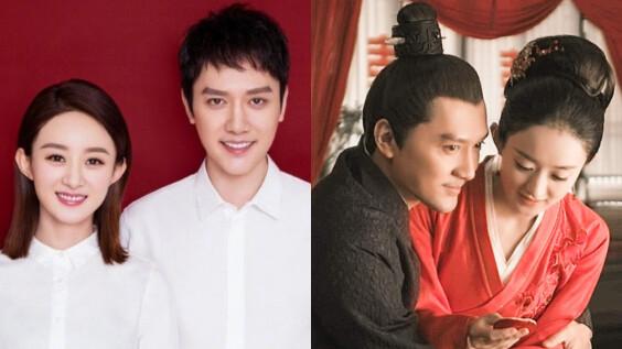 趙麗穎、馮紹峰宣佈離婚!結束3年婚姻,因聚少離多回歸朋友關係