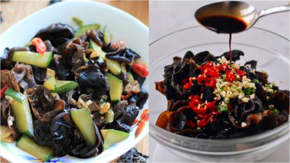 2道木耳料理:木耳綠花椰番茄炒蛋、涼拌蒜香辣木耳食譜來了,可清腸刷脂、改善便祕!