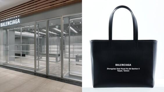 Balenciaga最新微風信義品牌概念店開幕!絕美銀灰工業風裝潢,還有台灣限定包款只有這裡買得到