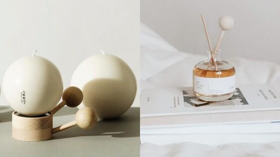 芬蘭森林系香氛品牌Hetkinen登台,小確幸地球蠟燭、木頭擴香造型太美,木質調香氣好有質感