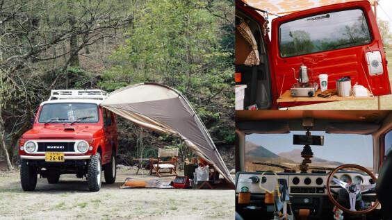 展開 Suzuki Jimny 車宿模式,女子 Solo Camp Style 有何不可!