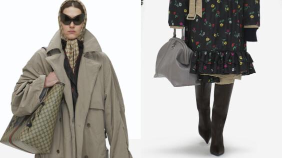 這不是Gucci!Balenciaga 2022春夏大秀:Gucci「BB」老花包、全新輪廓沙漏包…6大亮點帶你看