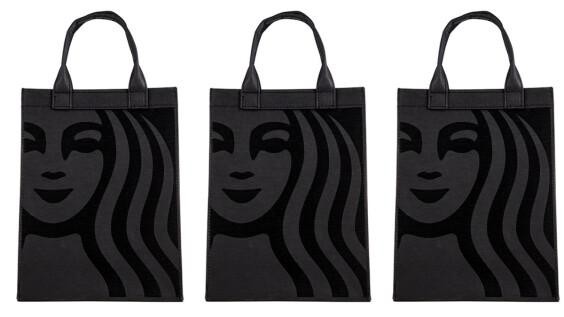 黑色控必收!星巴克推出時髦黑版本NEW SIREN提袋,還有霧黑款女神馬克杯、隨行杯上市