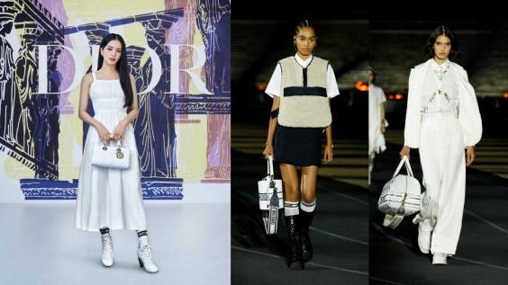 女神Jisoo曝光Lady Dior新手袋出席2022早春渡假大秀!全新水桶包、旅行袋、Tote Bag搶先看