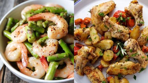 秋葵蒸蛋/蘆筍清炒蝦仁/無油香烤雞翅時蔬,3道小清新低脂餐食譜來了!