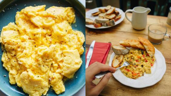 """鮮香味美、低脂高蛋白的""""黑胡椒金針菇炒蛋食譜""""來了!5分鐘就能搞定"""