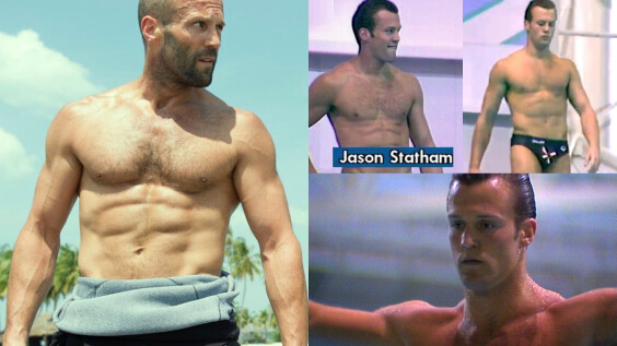 傑森史塔森 好鮮好帥!曾經效力英國跳水隊12年,曾挺進奧運資格賽,愛上尬車前,原來是名水上好手?!