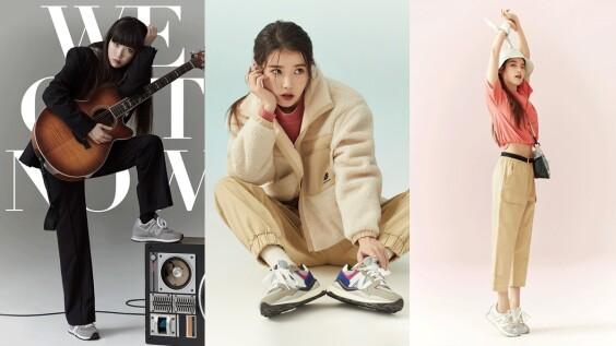 IU擔任New Balance品牌大使代言球鞋一次看!元祖灰NB574、NB327、NB5740、隱藏版老爹鞋...共7雙球鞋盤點
