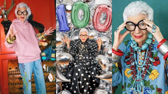 「世界最潮阿嬤」Iris Apfel 百歲生日快樂!八大重點解析她一生都在做自己的私服風格