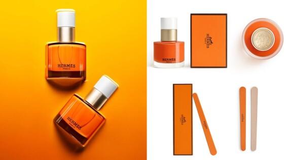 Hermès指甲油2021登場,把愛馬仕橘擦在上手好亮眼,連護手霜都有