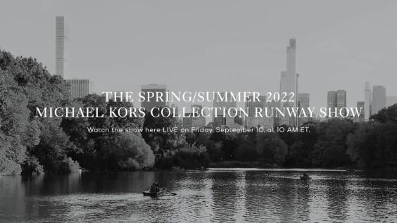 2022春夏紐約時裝週|Michael Kors時裝秀直播線上看!將在9/10晚上10點登場