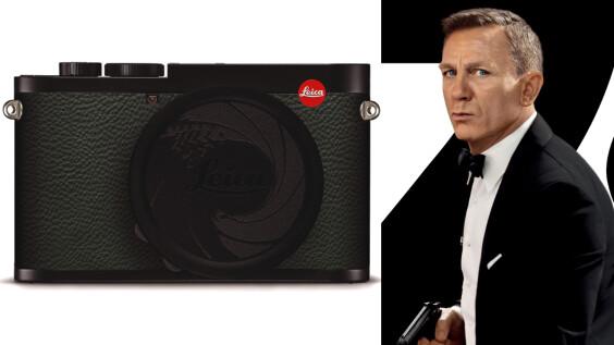 徠卡推出「007限量版」相機!《007生死交戰》幕後花絮攝影展就在台北徠卡畫廊