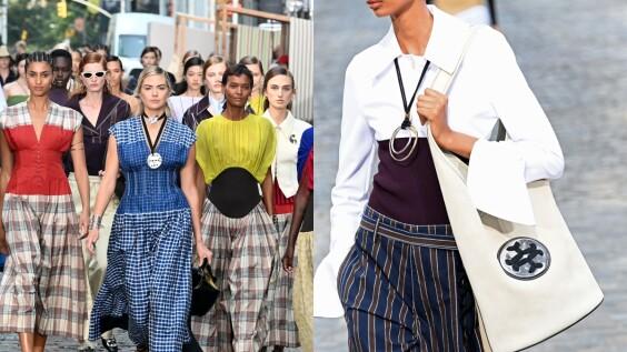 2022春夏紐約時裝週|Tory Burch 帶回40年代美式休閒風,復古與現代的完美結合