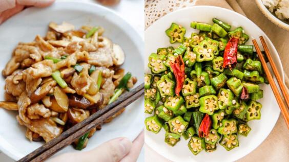 吃多少都不會胖的低脂料理—秋葵鮮菇炒蛋食譜來了,營養美味又有飽足感!