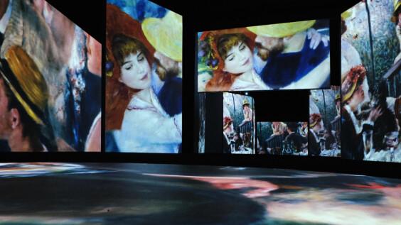 《印象莫內-光影體驗展》高雄站登場!6公尺投影牆、2000幅印象派作品一次看