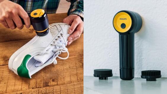 飛利浦「電動洗鞋機」開賣!簡單3步驟、輕巧重量,隨時把愛鞋照顧好