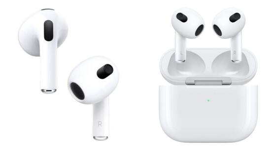 AirPods 3蘋果新一代無線耳機來了!更短耳機柄設計,台灣售價曝光