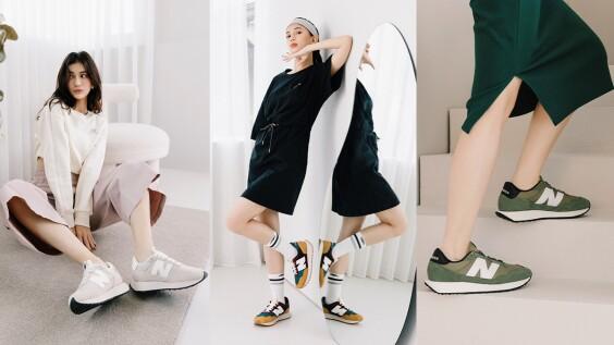NB237再推神仙新配色!讓時尚部落客大讚:『這款極簡系鞋款,居然跟任何風格都超好搭!』秋冬腳上沒有配一雙出門時尚Sense真的大輸!