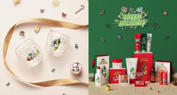 innisfree 2021綠色聖誕!限定保養禮盒、浮誇滿額贈,購買還能做公益